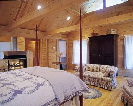 Spacious cabins with all the feel of home