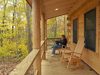 Murphin Ridge Cabins is a Great place for Relaxing