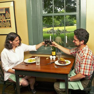 Murphin Ridge Inn, Dinner for two with a view
