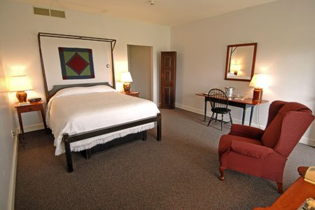Murphin Ridge Inn, custom furnished by David T. Smith