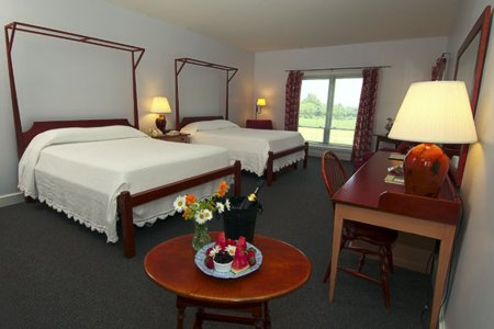 Murphin Ridge Inn, double room with Appalachian view
