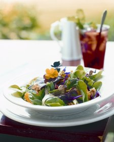 Murphin Ridge Inn, Fresh garden salad